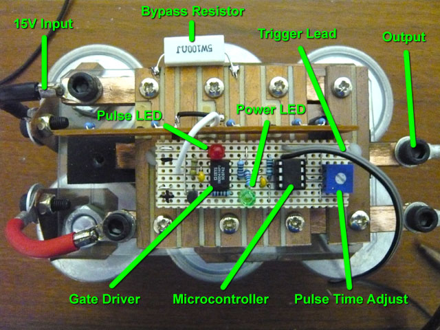 Labelled Igbt Gate Driver Schematic Diagram on