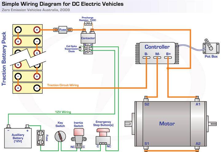 emergency stop switch wiring diagram zero emission vehicles australia  zero emission vehicles australia